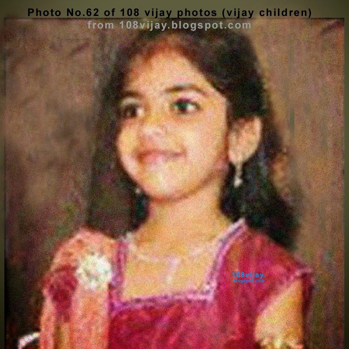 vijay daughter divya saasha rare photos