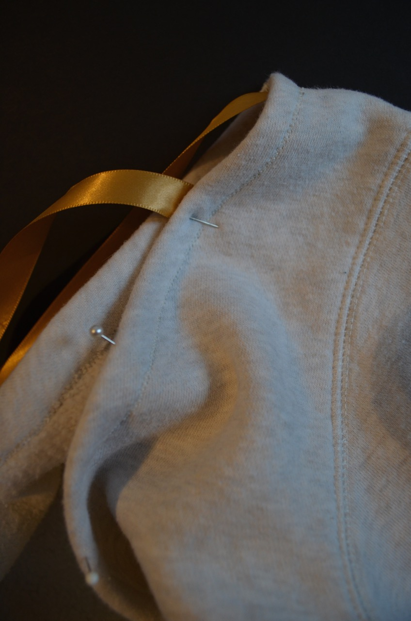 DIY Sweatshirt Loungewear Embellishment