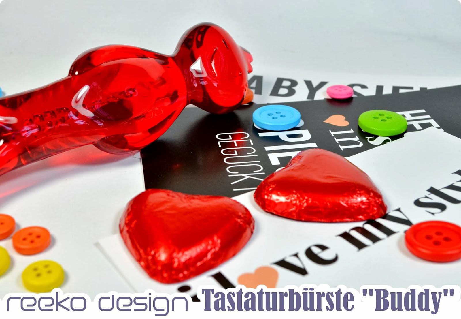 My Style Hit Bronzegeschenk - reeko Design Tastaturbürste