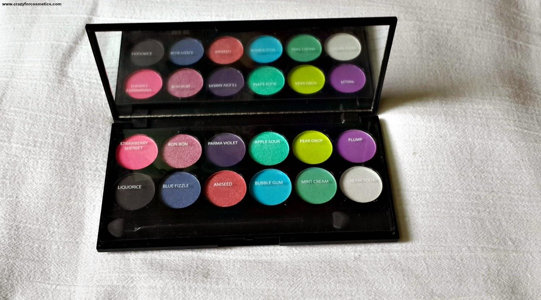 Sleek I divine candy eyeshadow-sleek I divine eyeshadow palette-sleek I divine palette review-sleek – divine eyeshadow palette review and swatches-sleek makeup