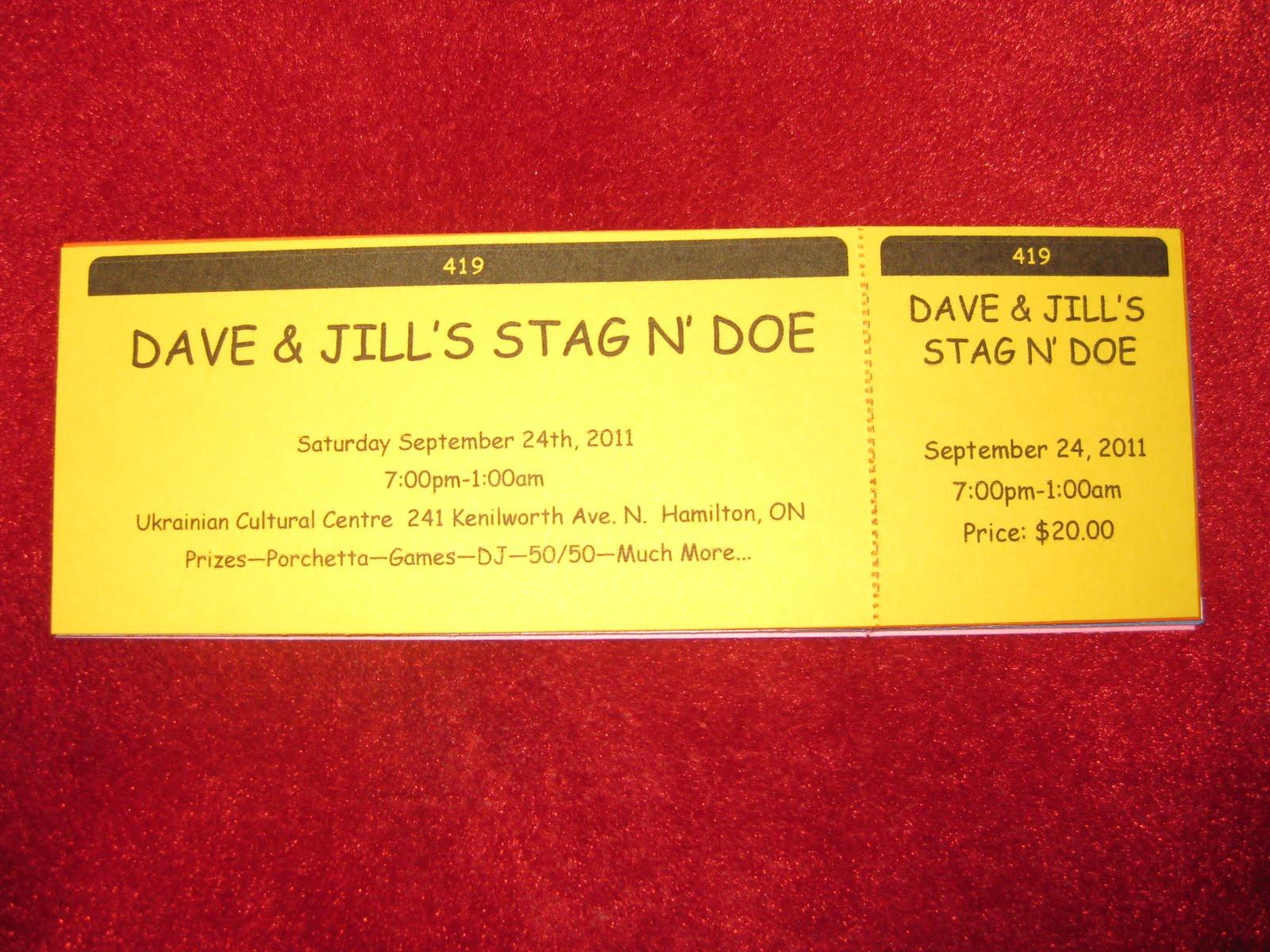 Dave & Jill 2011