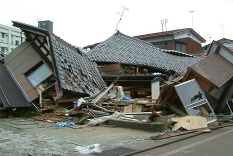Man's House Collapses Under His Own Weight