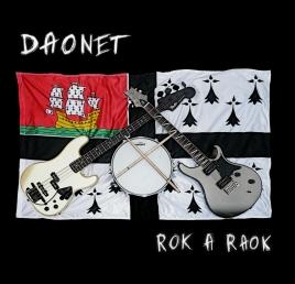 Visuel de la pochette du CD Rok a raok de Daonet