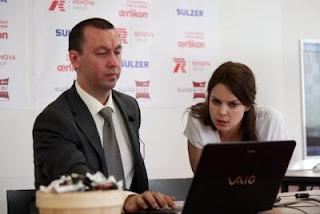 Ronde 7 : Anastasiya Karlovich interroge Gata Kamsky après sa victoire sur Alexander Morozevich