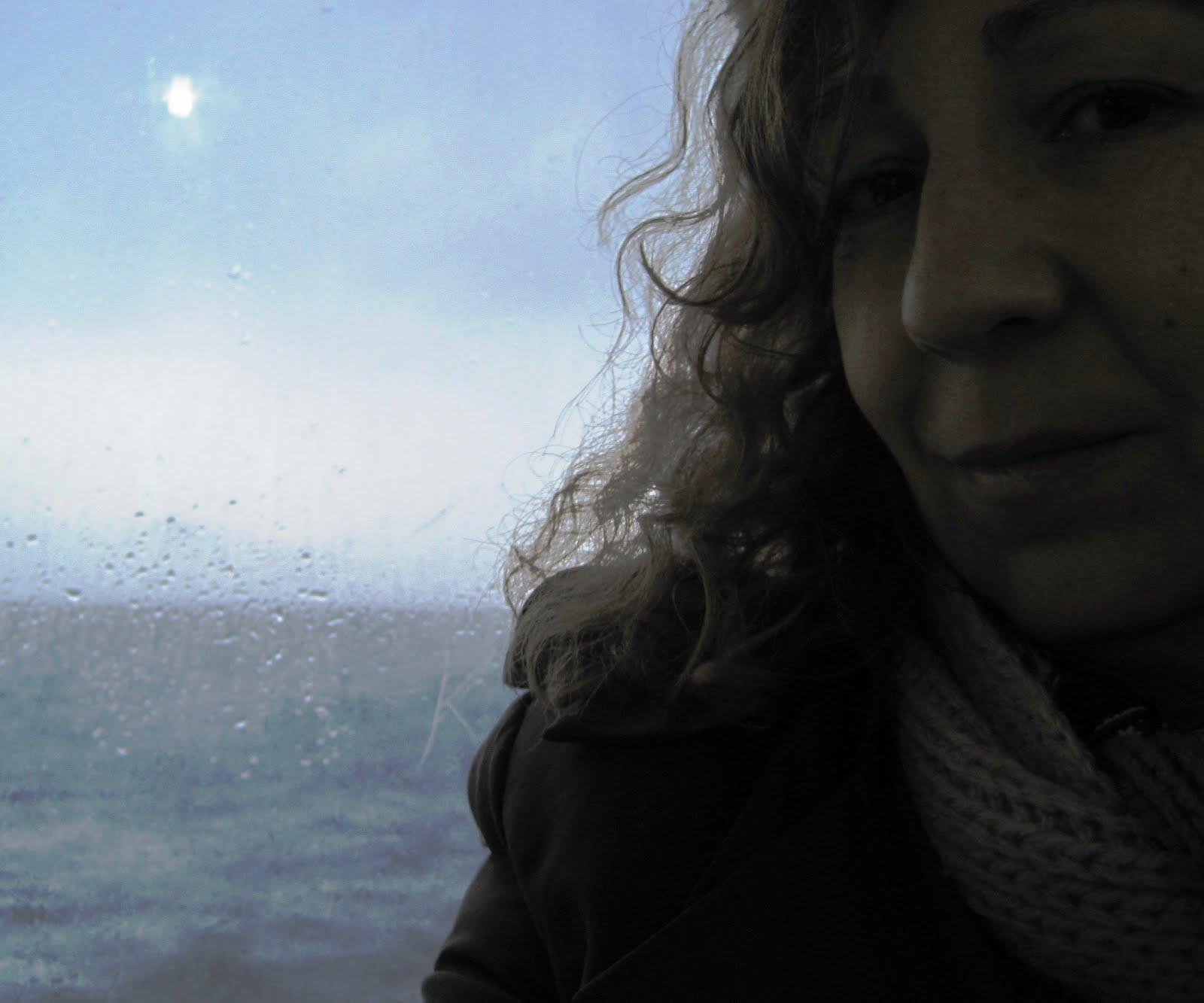 Autora del blog a bordo del Penélope