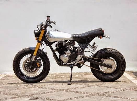 Modifikasi Yamaha Scorpio