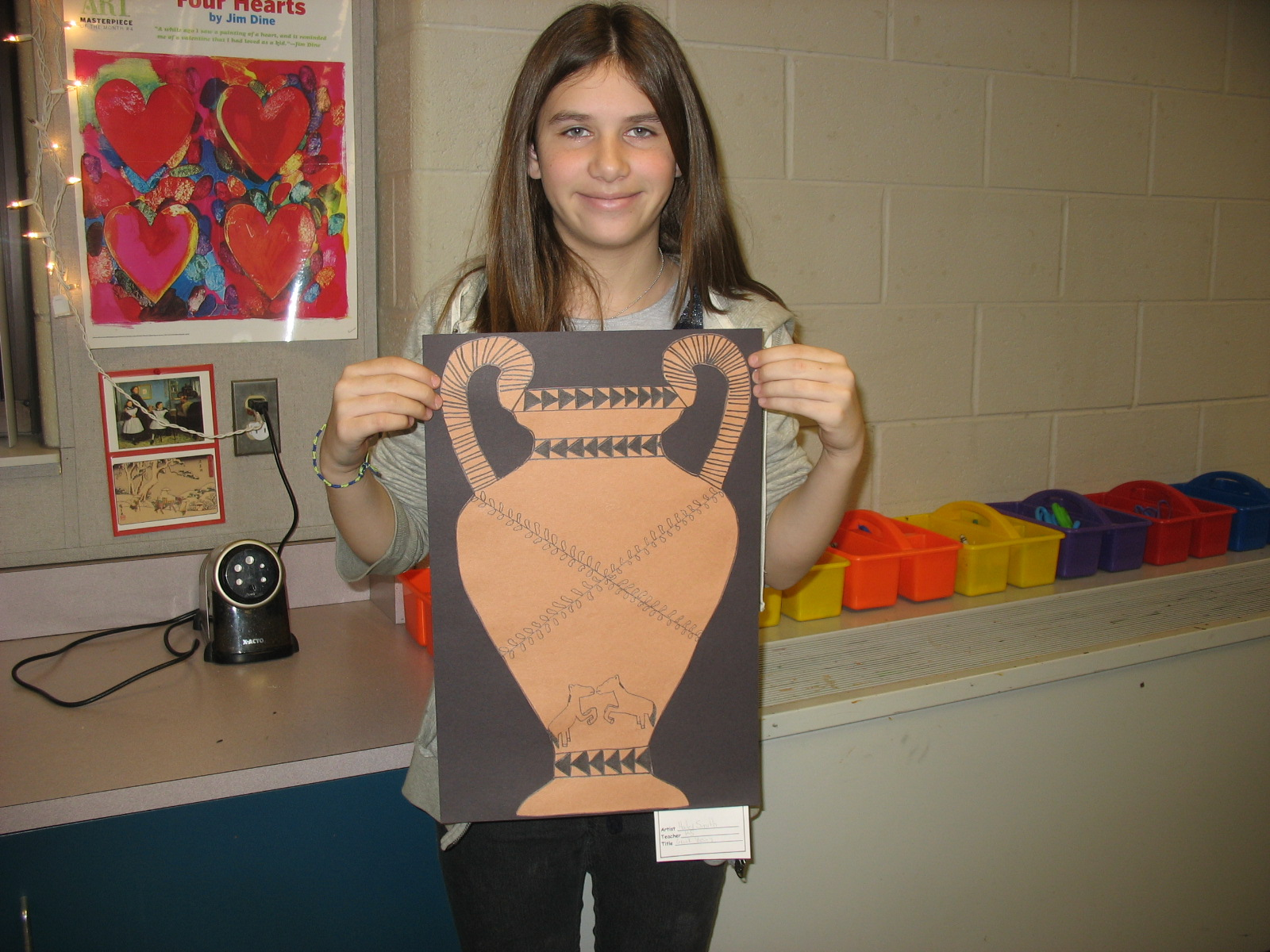 Art inspired by greek vases i am using a krater because i thought it was cool a krater was used for mixing water and wine the art on greek vases showed scenes about their lives reviewsmspy
