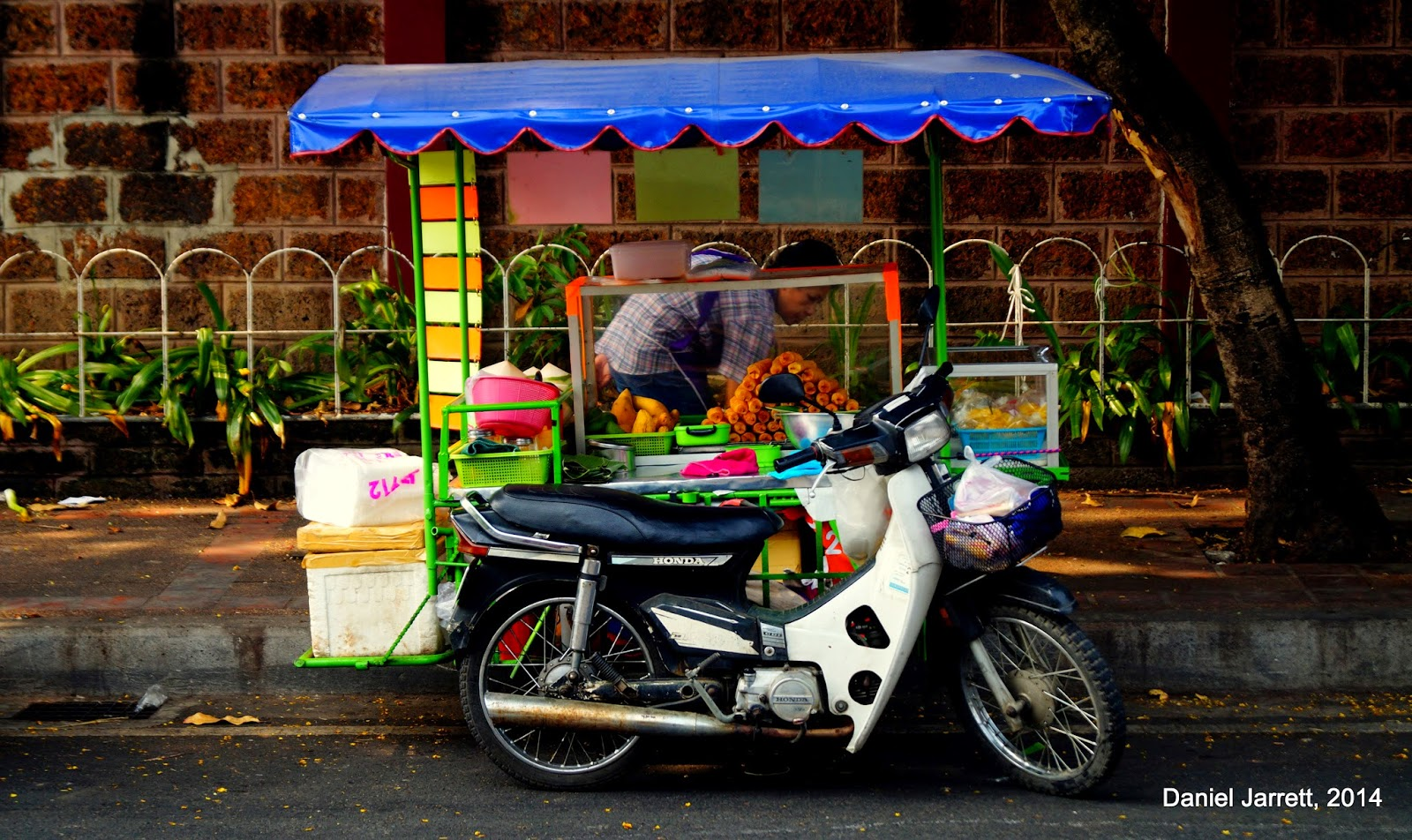 Life in Chiang Mai Mobile Food Stalls