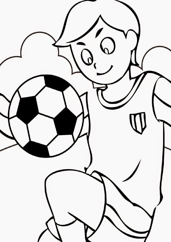 Sports coloring sheets free coloring sheet - Pagina da colorare di un pallone da calcio ...