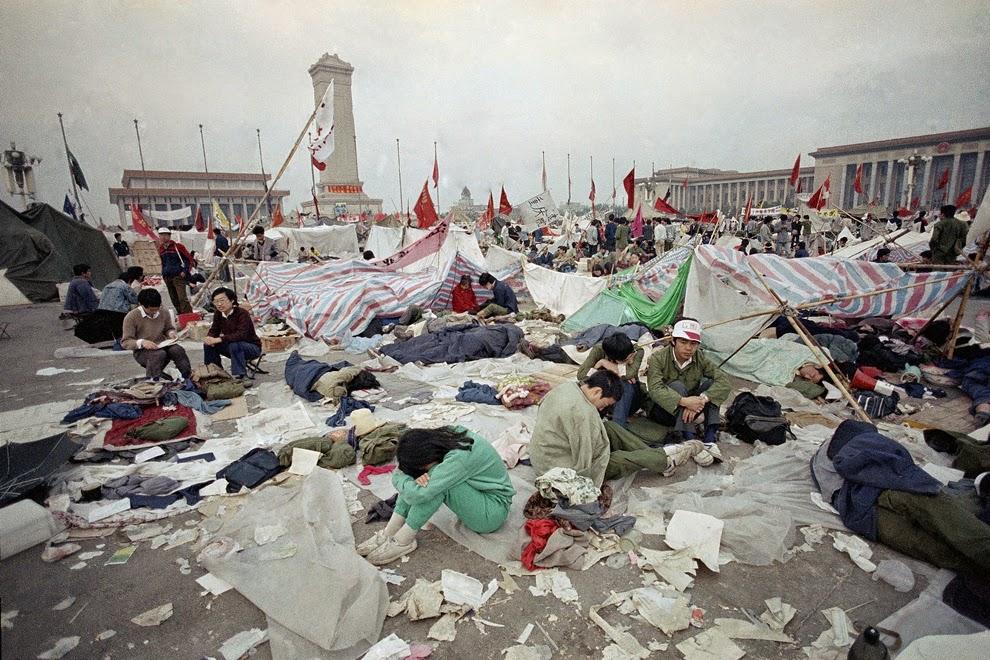 Protesta Plaza de Tiananmén 1989