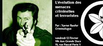 L'évolution des menaces criminels et terroristes