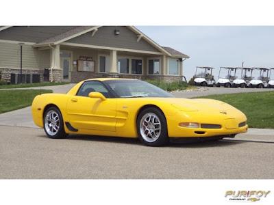 2004 Corvette Z06 at Purifoy Chevrolet
