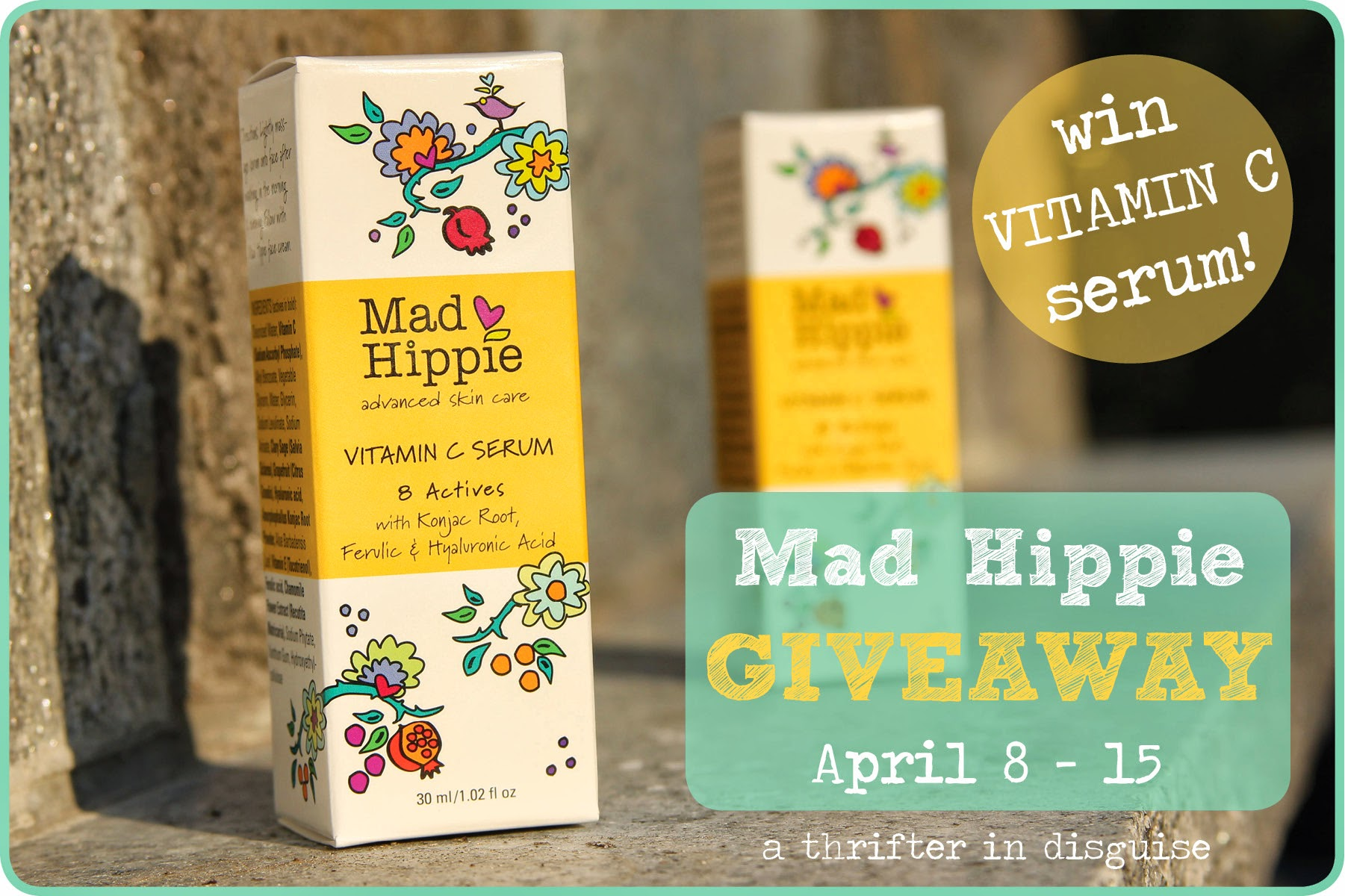 Giveaway via thrifterindisguise.com