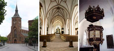 Art Talk - Foredrag om kunst. Skt. Knuds Kirke, Skt. Hans Kirkes hovedskib og Vor Frue Kirkes prædikestol