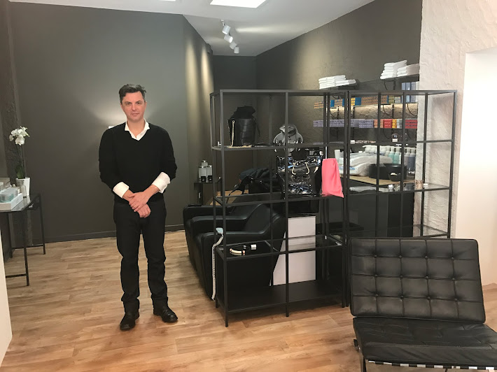 ouverture du salon de coiffure Néo place nationale en fevrier 2017