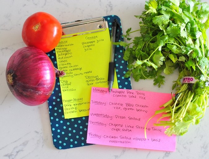 menu planning baby step toward healthier living