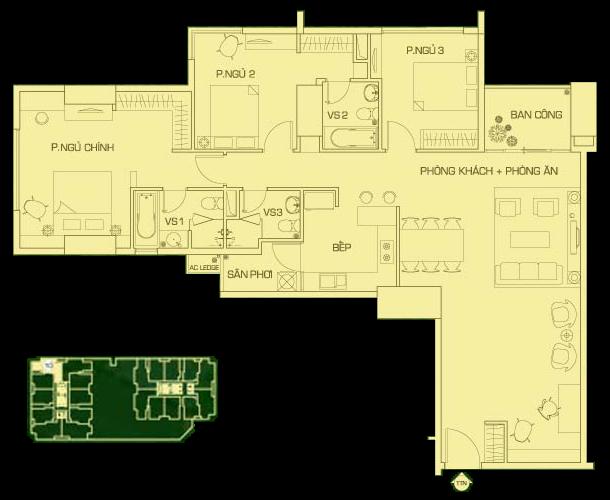 căn hộ 10 everrich lầu 7