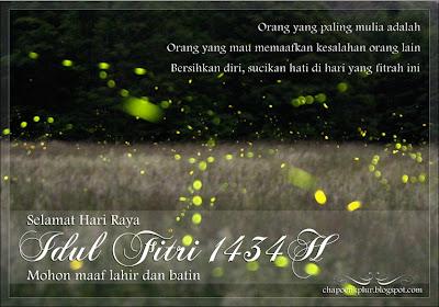 Desain Kartu Ucapan Idul Fitri 1434H Dengan Photoshop
