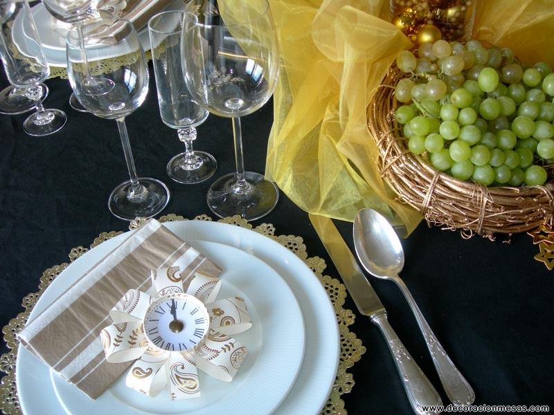 Decoracion de mesas mesa nochevieja - Decoracion mesa nochevieja ...