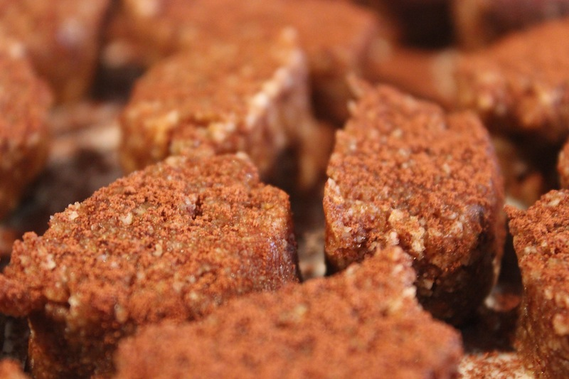 Chai Spice Raw Fudge
