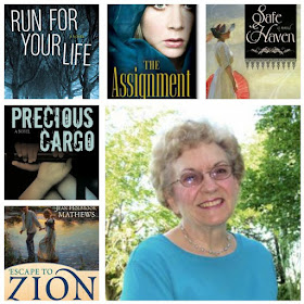 Jean Holbrook Mathews' books are on Bookshelf Plus