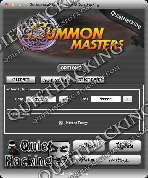 Summon Masters Cheat v.2.9 [NEW 2014] 1