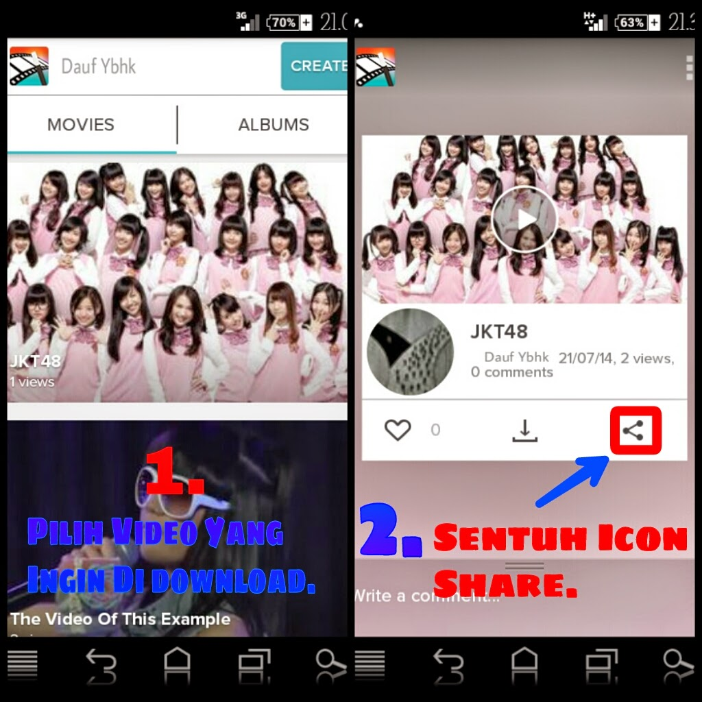 Cara Download Video Di Magisto Tanpa Bayar (Dunia Android)