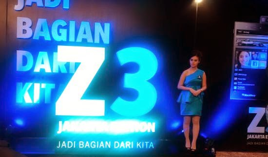 Launching BlackBerry Z3 a