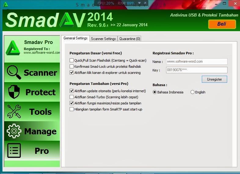 Smadav Pro 2014 rev9.6.1 Final