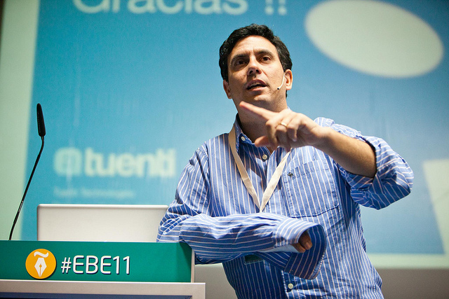 @SebasMuriel, Director de Desarrollo de Tuenti. Fotografía: Victoriano Izquierdo