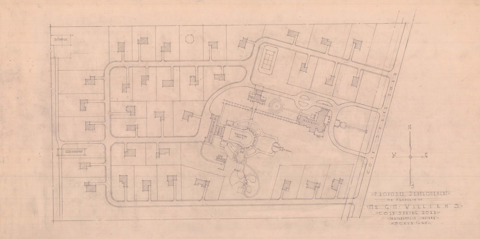 Drawings Documents Archive The Wheeler Estate Marion College And The Time In The Middle
