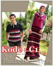 baju-muslim-couple-kode C1