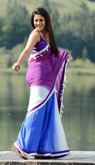 nayanatara saree pics in greekuveerudu movie5