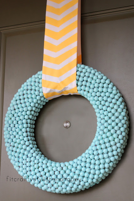 bubblegum wreath