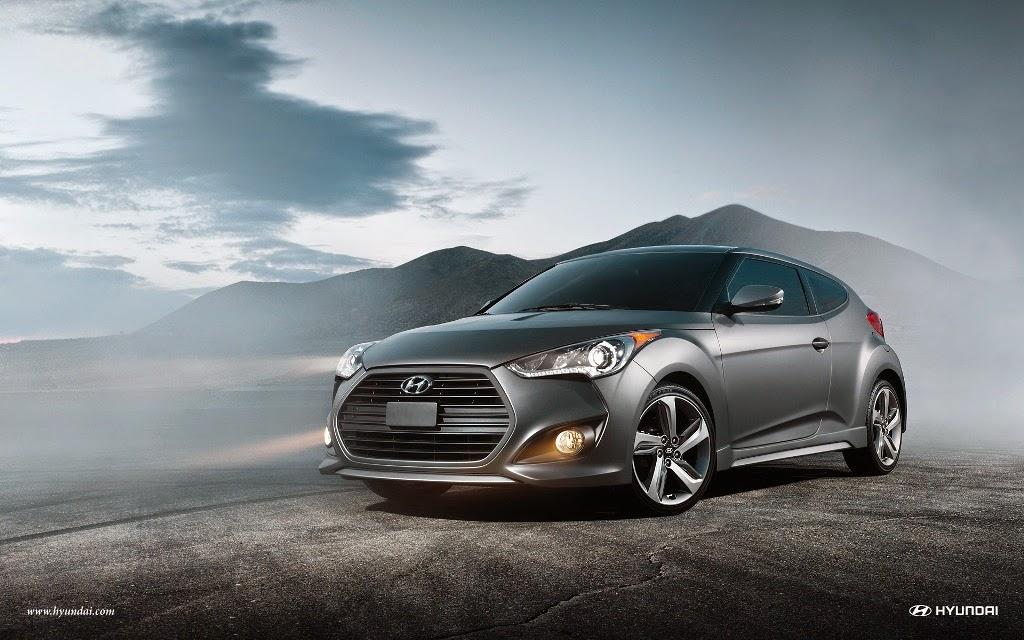 Hyundai Veloster Turbo; Hyundai Veloster Turbo 2014; Hyundai Hatchback Car;  Hatchback City Car
