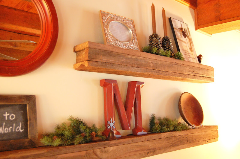 Barnwood Floating Shelf DIY