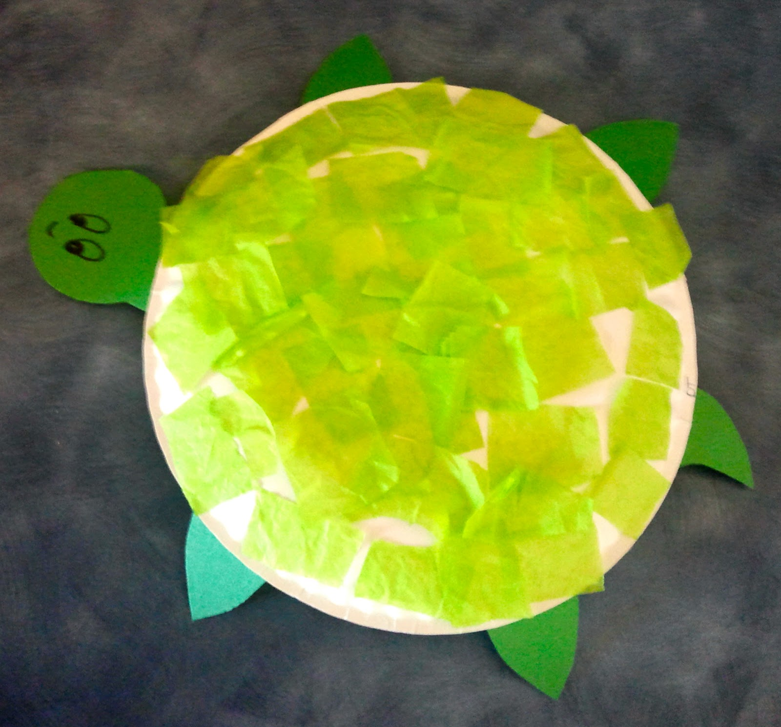 Paper Plate Turtle Craft & Paper Plate Turtle Craft | The Crafty Teacher