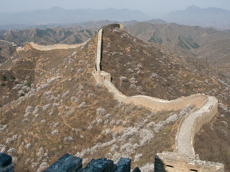 La Grande Muraille près de Pékin