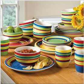 Enter here for a chance to win (1) Santa Fe Dinnerware Set & Santa Fe Dinnerware Collection \u0026 Giveaway ~ The Review Stew