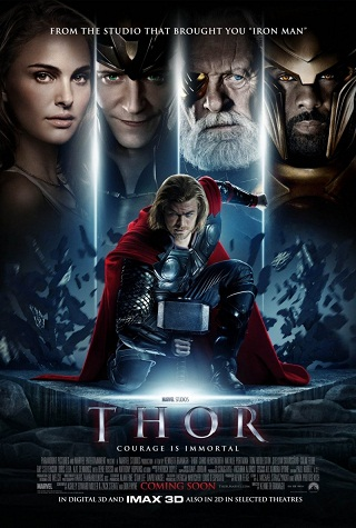 thor movie poster 2011. house Thor (2011) Movie