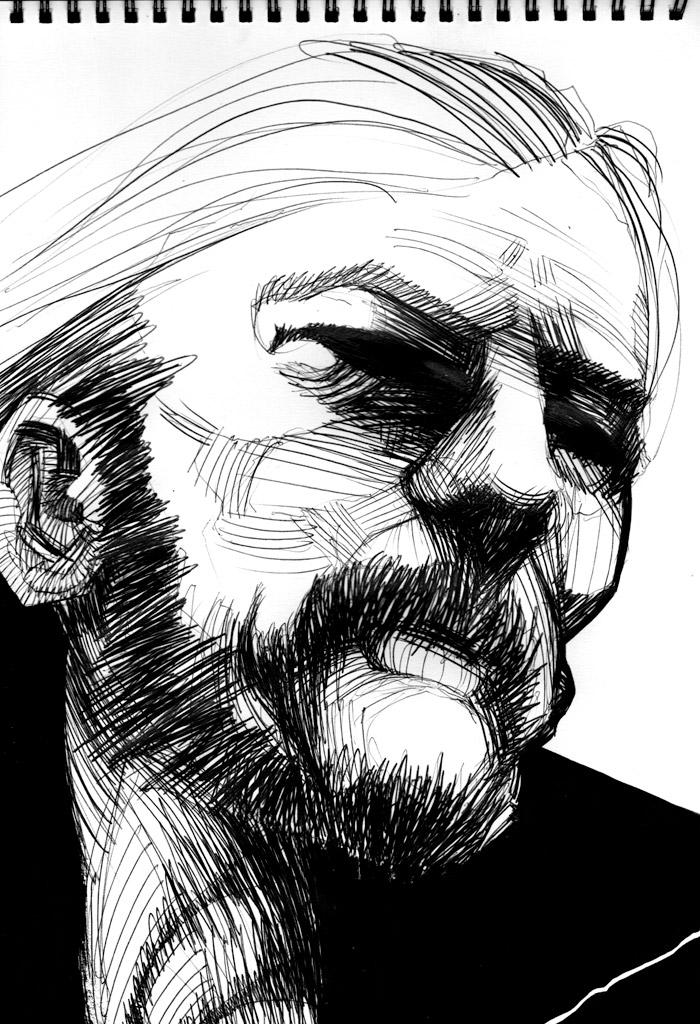 Lemmy Kilmister by Regis Lagoeyte