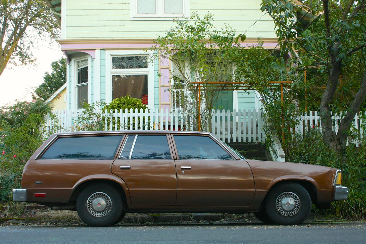 1980 Chevrolet Malibu Wagon.