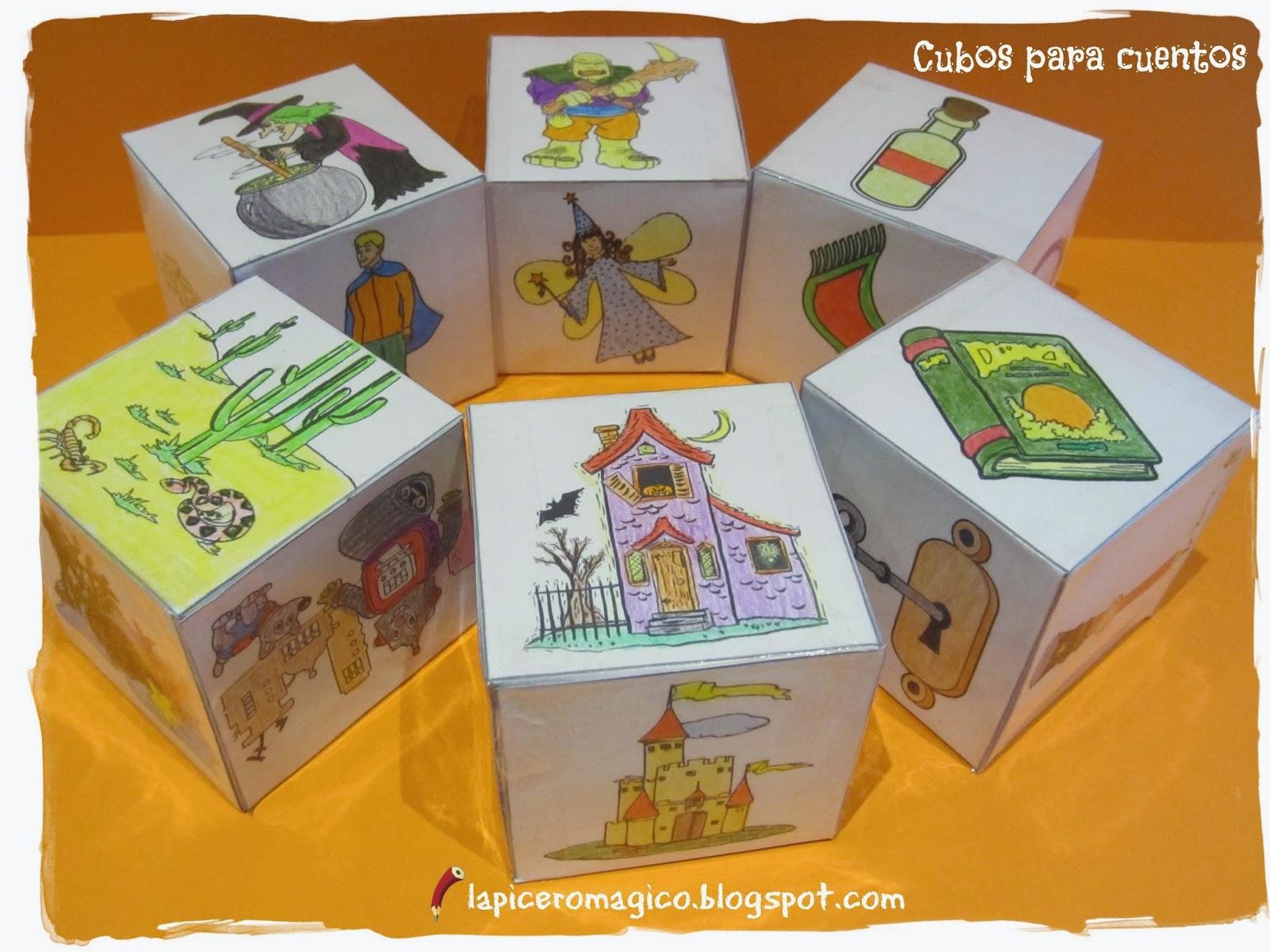 Resultado de imagen para cubos cuenta cuentos