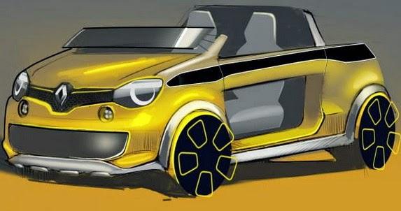 Kereta Konsep Renault Twing Hot