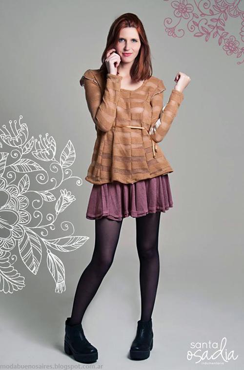 Santaosadia otoño invierno 2014. Ropa de mujer de moda 2014.