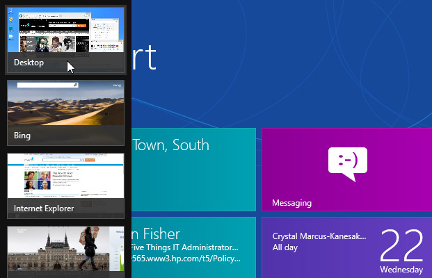 Switch Tasks Faster in Windows 8