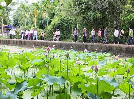 Sen village - President Ho Chi Minh's Homeland
