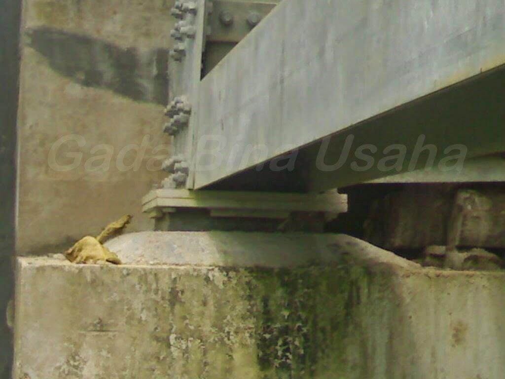 bantalan karet jembatan