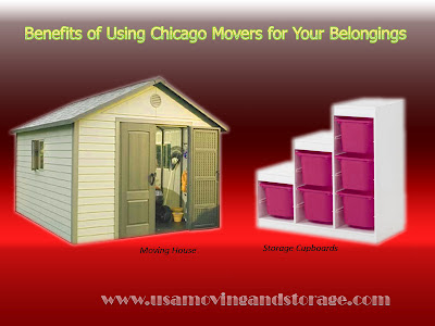 Benefits of Using Chicago Movers for Your Belongings