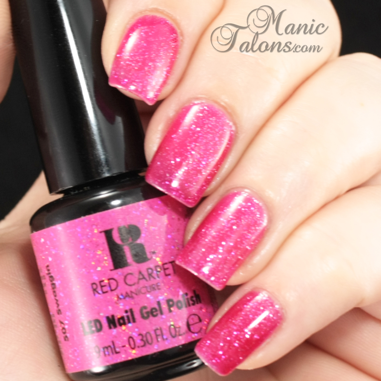 Manic Talons Nail Design: Valentine's Day Nails With Red